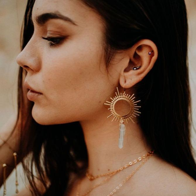 bohindie stream collective consciousness earrings