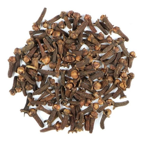 small pile of cloves from mountain rose herbs