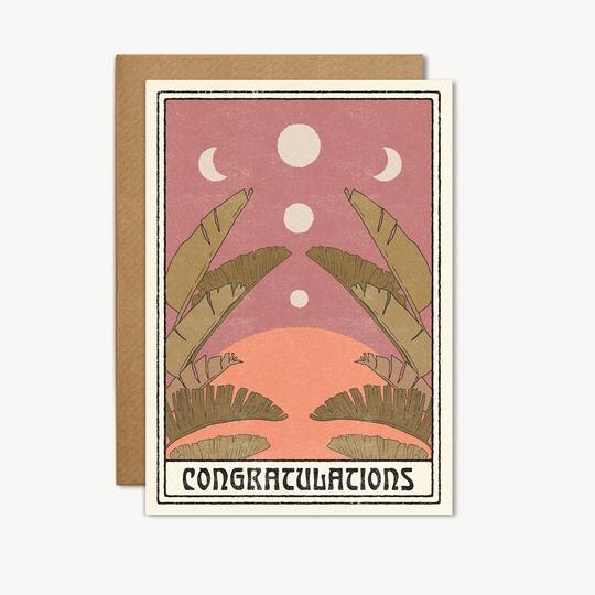 congratulations card by cai + jo