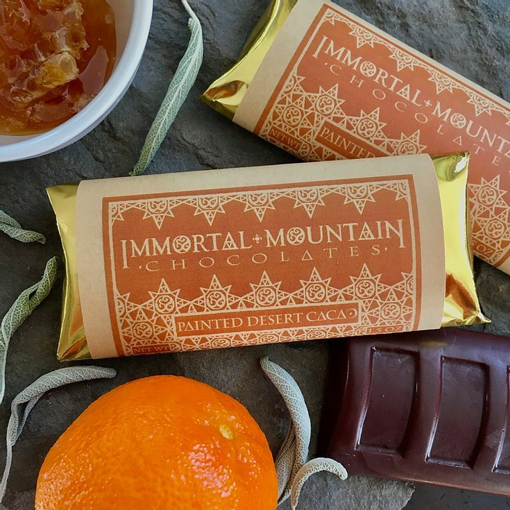 painted desert 65% cacao from immortal mountain