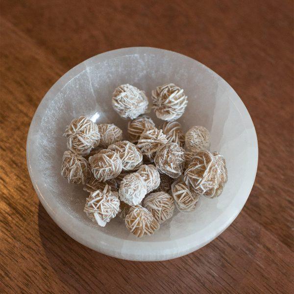 Raw Desert Rose Selenite stones