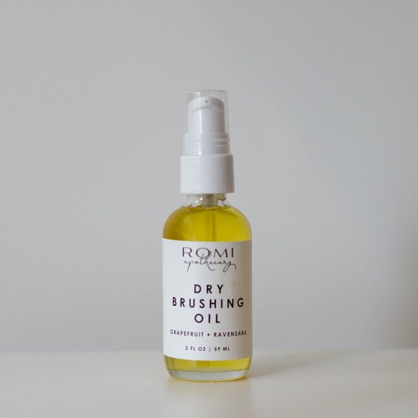 Dry Brushing Oil by Local Minneapolis Maker Romi Apothecary