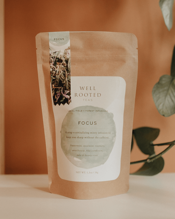 focus tea by well rooted