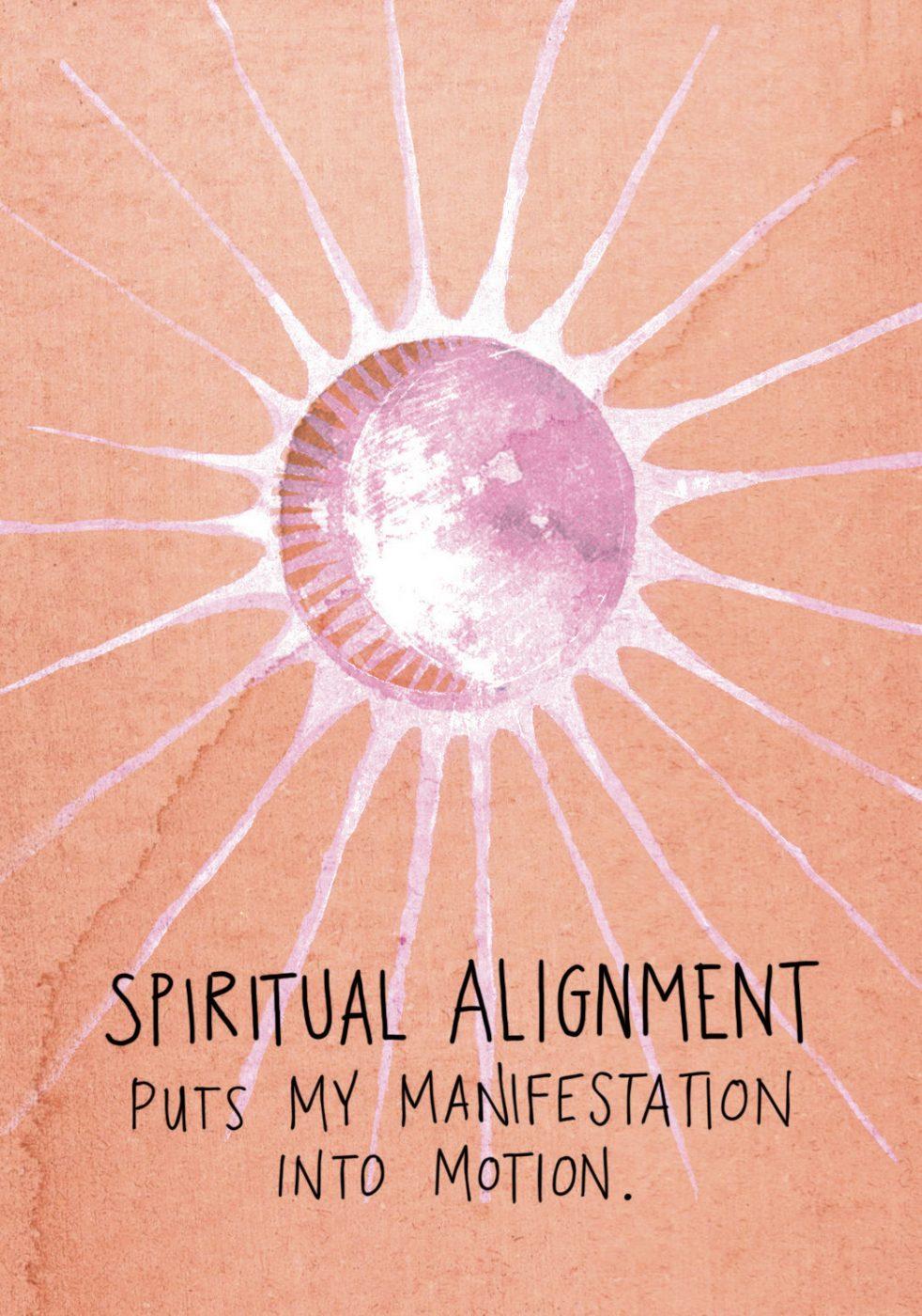 spiritual alignment - super attractor manifestation deck