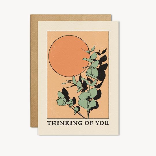 thinking of you card by cai + jo