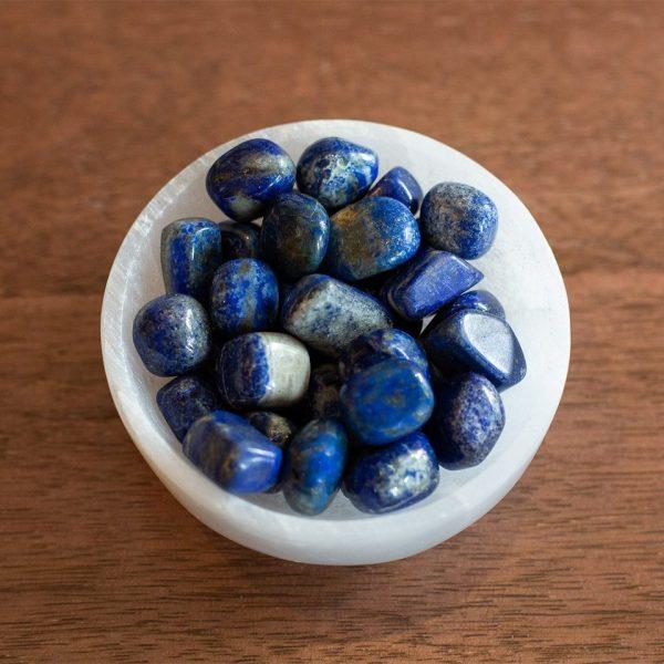 Tumbled Lapis Lazuli stones