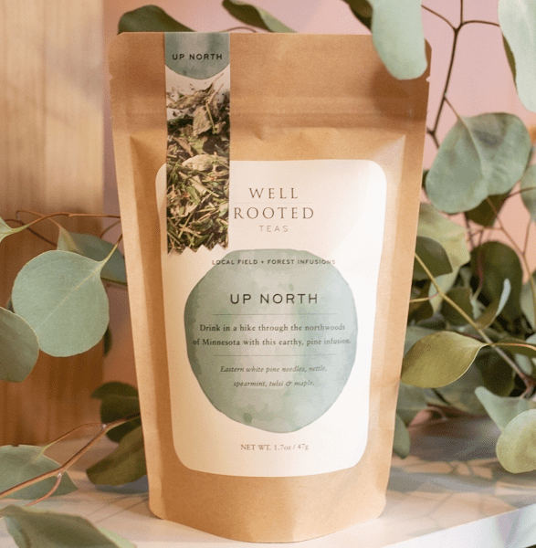 up north well rooted tea blend