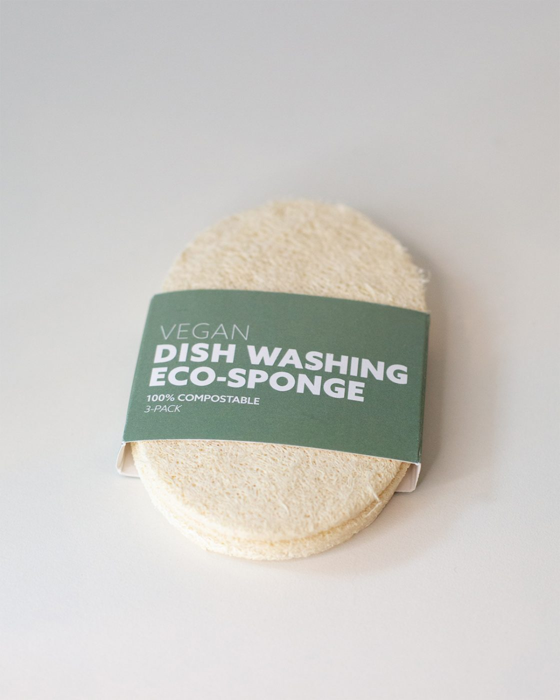 vegan dishwashing eco sponge